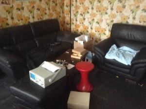Le salon du débarras de maison à Saint Etienne