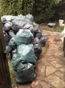 Débarras d'une maison à Montgeron