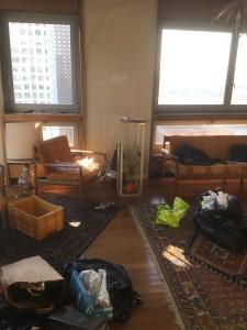 Débarras d'un appartement à Puteaux